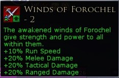 Second tier of Winds of Forochel buff