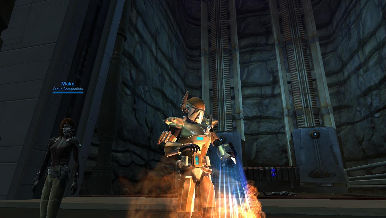SWTOR Healing as a Bodyguard Mercenary (Bounty Hunter) in ...