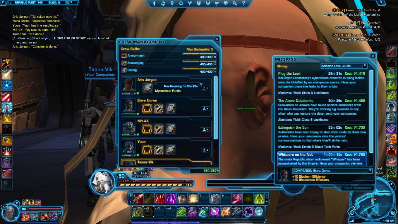 Swtor How To Craft Augment Kits