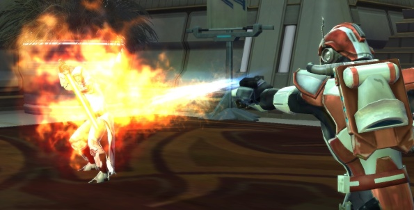 By far one of my coolest image nabs. Eat flame, Jedi!